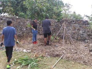 GHCDS Mini Gusto 2020 clearing african garden